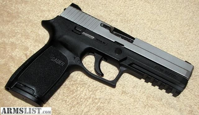 ARMSLIST - For Sale/Trade: FS/FT Sig Sauer P250, full size