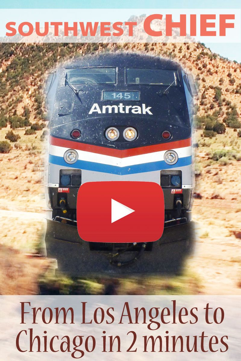 A short video of the fascinating journey from Los Angeles to Chicago on Amtrak's Southwest Chief.