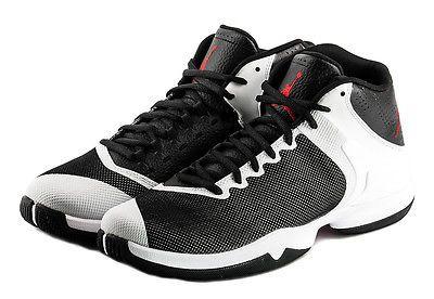 9bf9b6dc3997 Nike Jordan Super.Fly 4 PO Mens 819163-002 White Black Basketball Shoes  Size 7.5