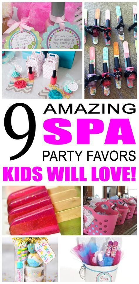 spa party favor ideas pinterest spa party favors party favour