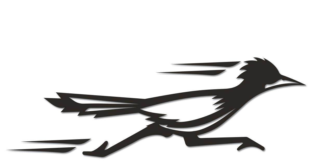 100   dashing standing phoenix bird tribal   how to roadrunner clipart black white road runner clip art free