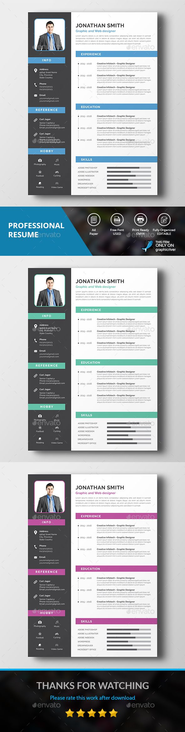 resume cover letter pinterest professional resume design