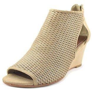 42587fbcd Donald J Pliner Jace Women Open Toe Leather Nude Wedge Sandal ...