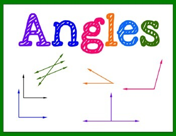 Angles Unit- Instructional Slides | My TpT Store- Hello