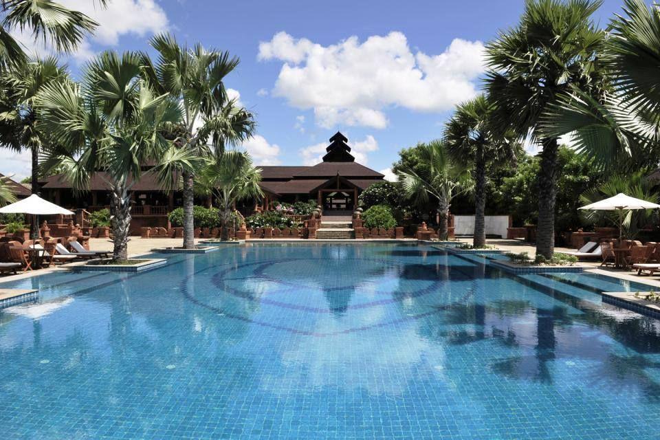 L'Hôtel Aureum Palace Bagan au Myanmar - #easyvoyage #clubeasyvoyage #easyvoyageurs #hotel #les1000plusbeauxhotelsdumonde #paradis #paradise #travel #traveler #travellovers #voyage #voyageur #vacances #holiday #holidaytravel #tourisme #tourism #break #myanmar