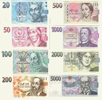 Pictures Of Czech Koruna The Unit Of The Czech Currency Is The Crown Koruna 1 Czk Czech Money Money Collection Prague Travel
