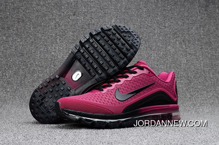 brand new 894be 71e83 Verkauf An Nike Air Max 2017.8 Wine red Schwarz