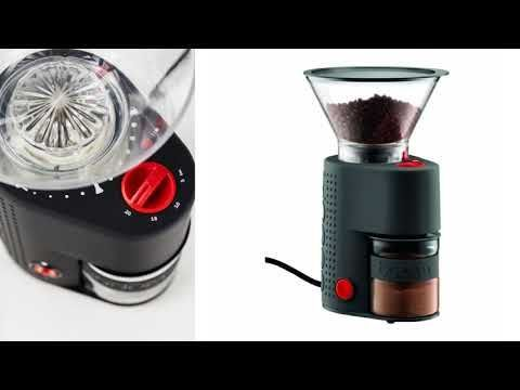 Bodum Bistro Electric Burr Coffee Grinder Review Guide