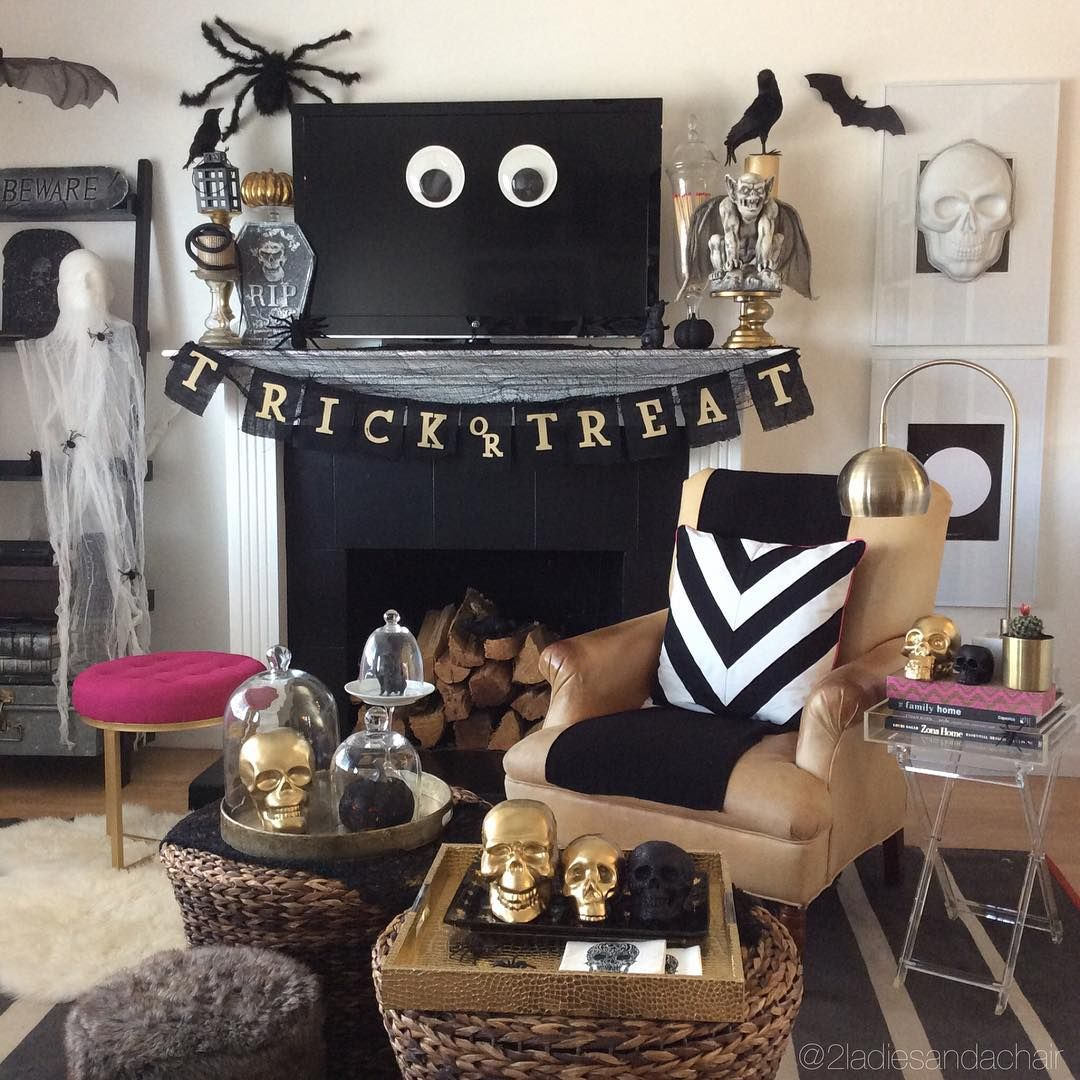"""We are excited to announce that our guest blog at homegoods.com is published!! ➕How to create a haunted home for Halloween ➕ We can't wait for you to…"""