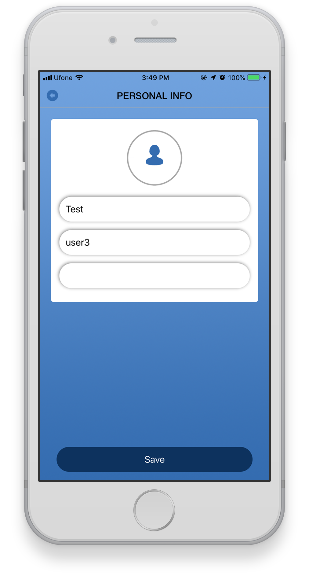 MYTA Beacon - Proximity Tracking Cleaning iOS APP | Design