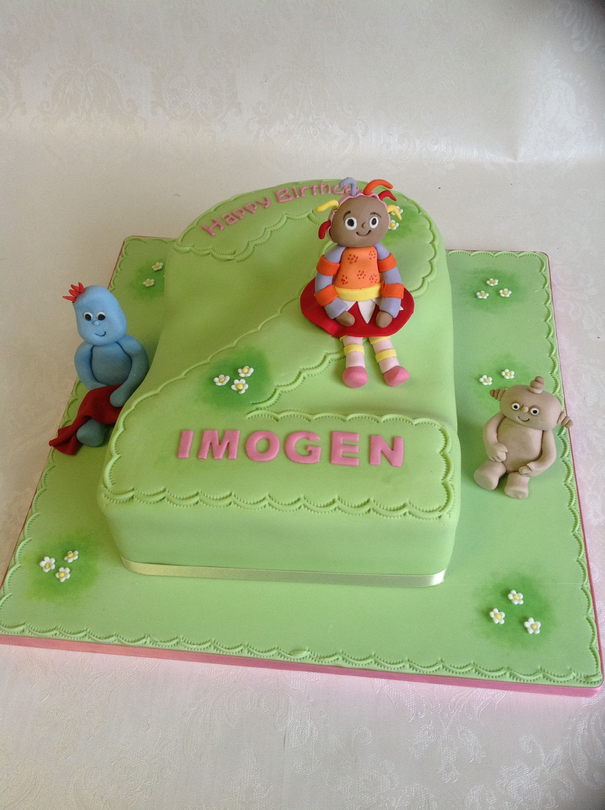 No 2 cake with main In the Night Garden characters | In the Night ...