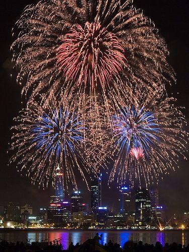 Perth Australia Day Fireworks Australia Day Australia Day Fireworks Fireworks Photo