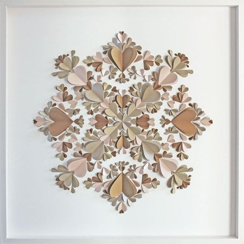 kaleidescope metallic (72 x 72cm)