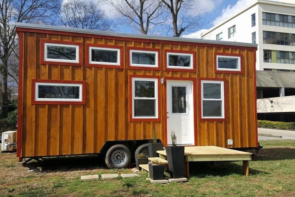 Air B B In Atlanta Ga Tiny Houses For Rent Tiny House