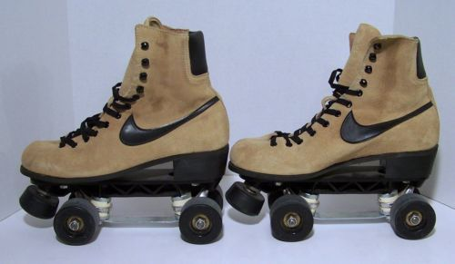 Vintage Nike Suede Roller Skate Skates Women S Size 9 Super Nice Too Clean Vintage Nike Combat Boots Army Boot