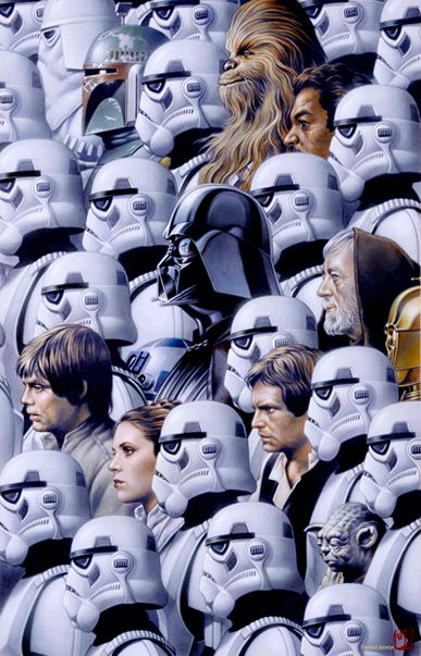 Incredibly Cool STAR WARS Art - 'To Cloud City' andMore - News - GeekTyrant