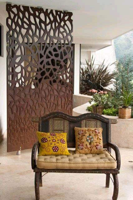decorative screens for living rooms cool room curtains portion wall pinterest panels partition design dividers divider screen