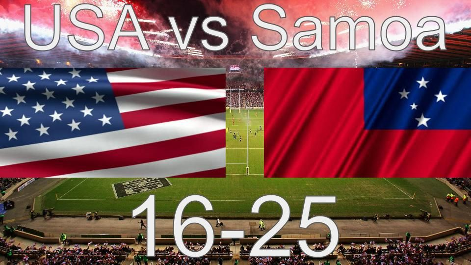 Too Many High Tackles And Mishaps On Technicalities Marked This Loss Up As A Lack Of Discipline Usa Eagles Rugby World C Rugby World Cup Usa Rugby World Cup