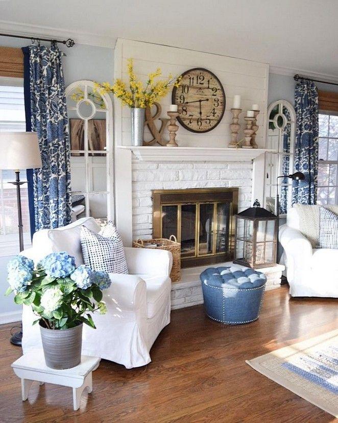 Country curtain ideas for living room farmhouse 4 ...