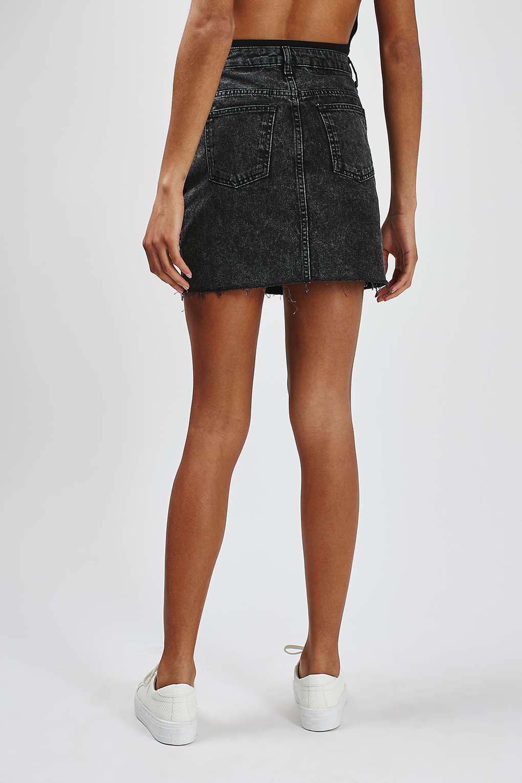 e65666d451 MOTO Denim High-Waisted Skirt | topshop | High waisted denim skirt ...
