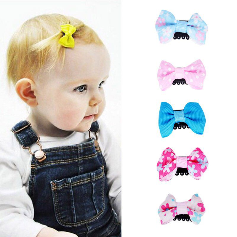 Excited To Share This Item From My Etsy Shop 2 5 10pcs Set Baby Colorful Mini Hair Clip Baby Bow For Little Hair Baby Bows Baby Hair Bows Small Hair Clips