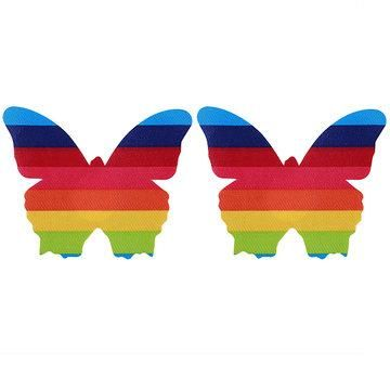 NewChic - NewChic Sexy Rainbow Multi Shape Disposable Backless Strapless Invisible Sticky Bras - AdoreWe.com