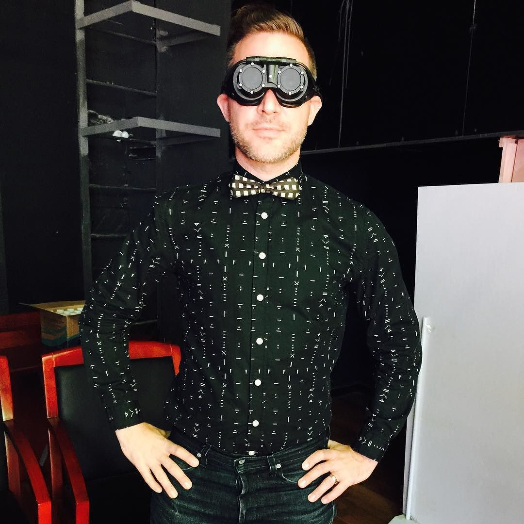 An awesome Virtual Reality pic! eMagin smart glass prototype at #aweasia2015 #augmentedreality #virtualreality #smartglasses #wearabletech by tomemrich check us out: http://bit.ly/1KyLetq