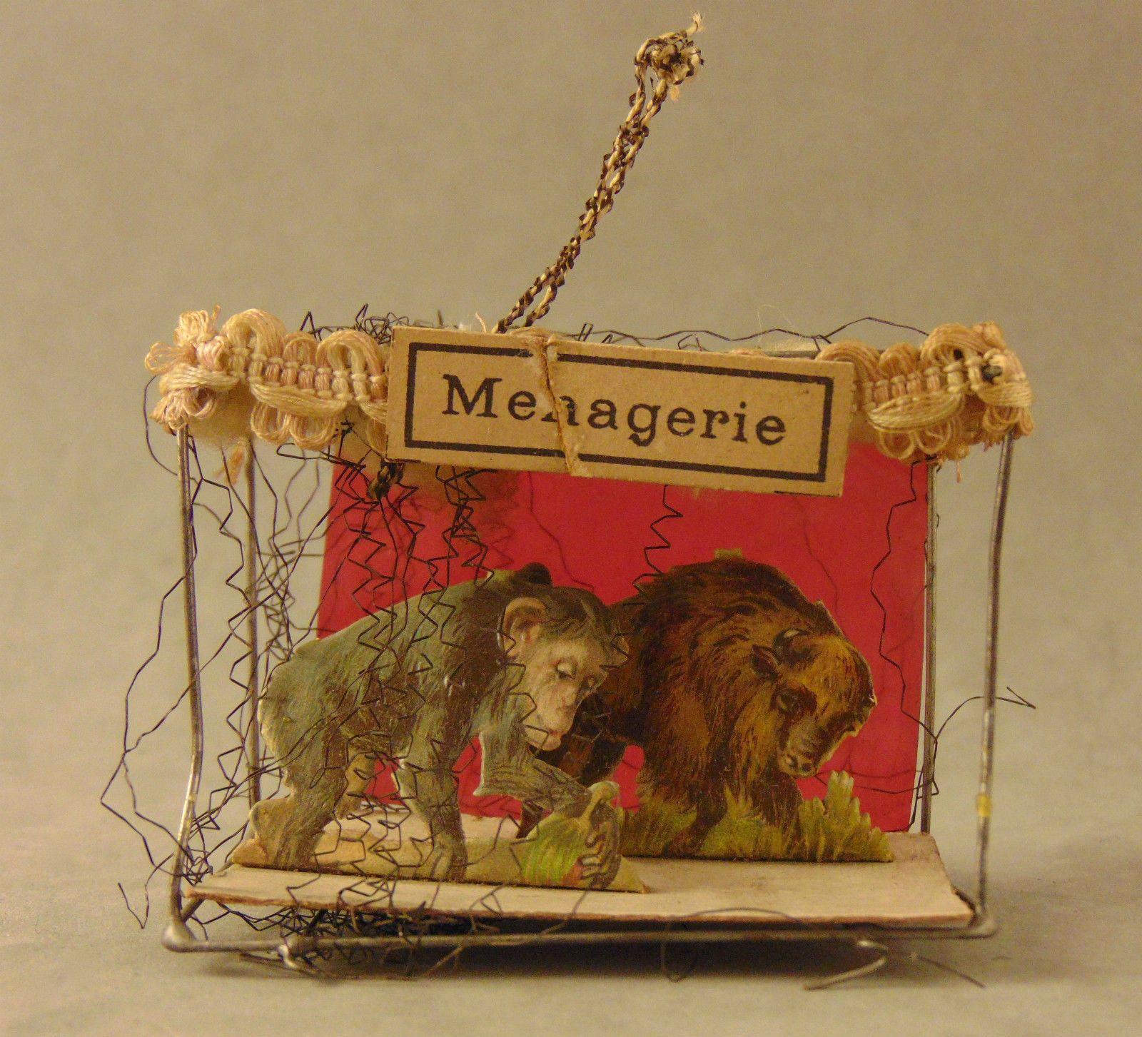 Circa 1900 Antique German Sebnitz Wire Wrapped Christmas Ornament #6 ...