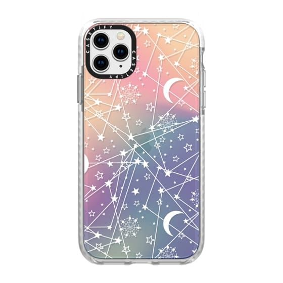 Sun moon stars white galaxy