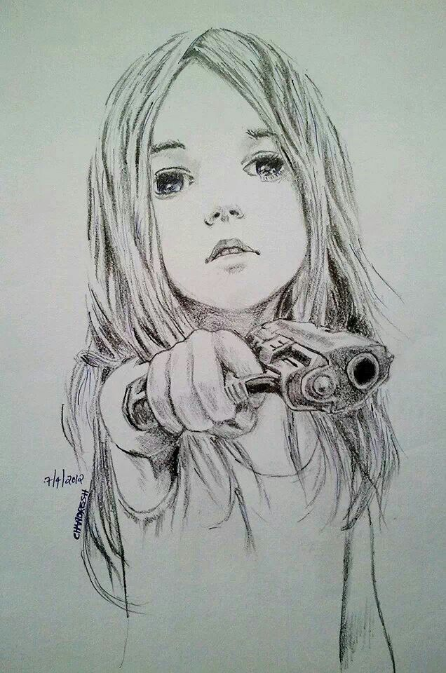 Young Child With Gun