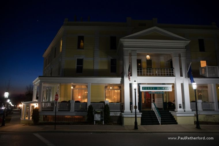 Anic Dinner At Stafford S Perry Hotel In Petoskey Northern Michigan Photography