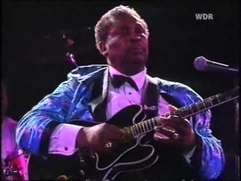B B King Friends Night Of Blistering Blues 1987 Youtube