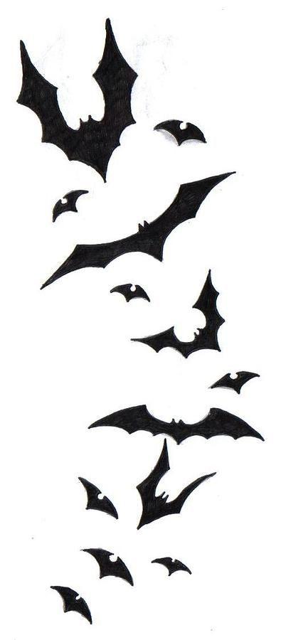 Bat Tattoo Design By Ninja Spirit Bats Tattoo Design Tattoo Design Drawings Bat Tattoo