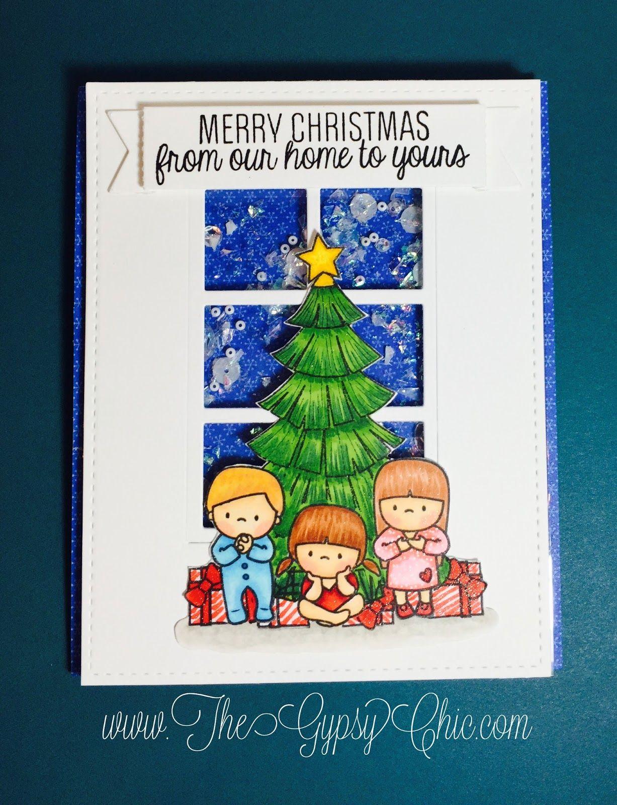 mama elephant christmas scene - Google Search   Crafts: Card Ideas ...