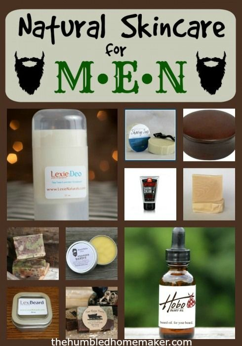 Natural Skincare for Men
