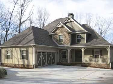 Rustic Beauty (HWBDO63916) | Prairie House Plan from BuilderHousePlans.com