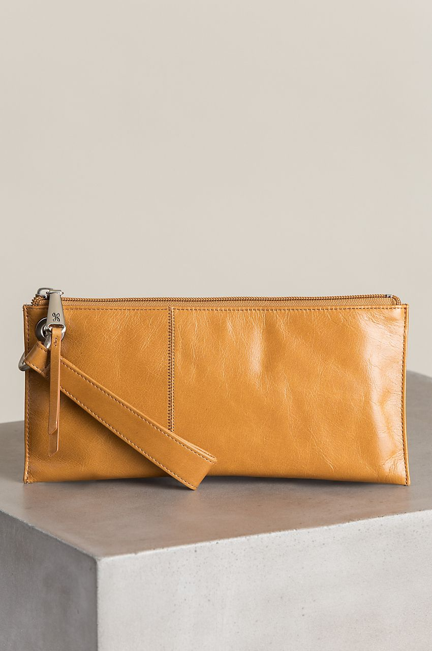 VIDA Leather Statement Clutch - Horizon Clutch by VIDA IctyW2bW
