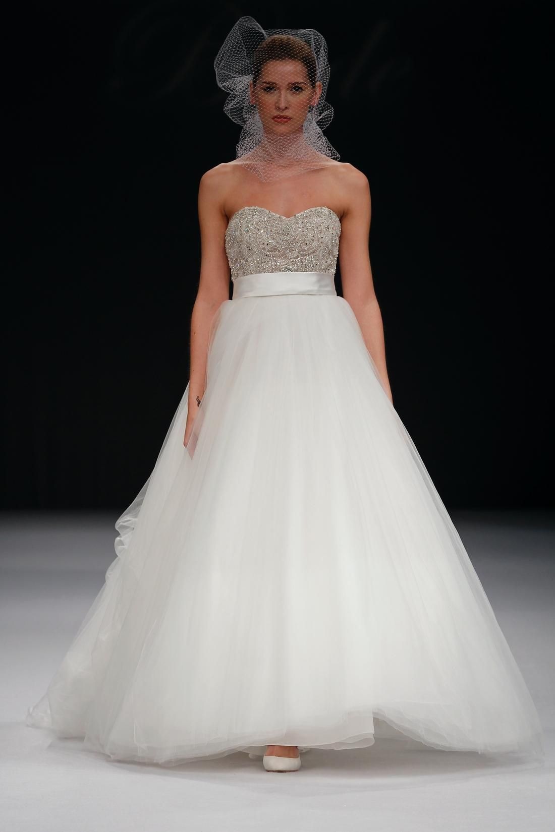 Bridal Gowns: Badgley Mischka Princess/Ball Gown Wedding Dress with ...