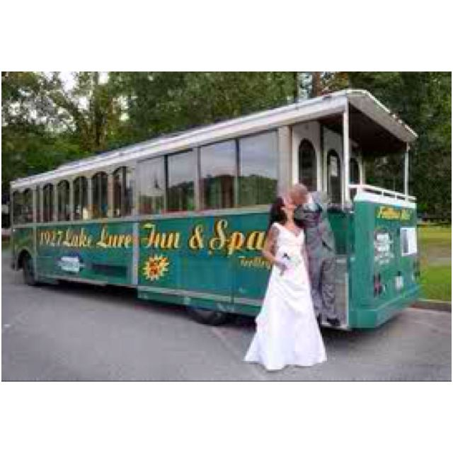 Lake Wedding Ideas: This Is The Lake Lure Inn Trolley :)