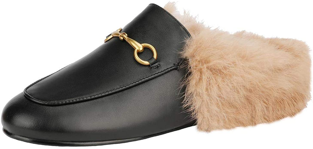 Backless loafers, Leather slip ons