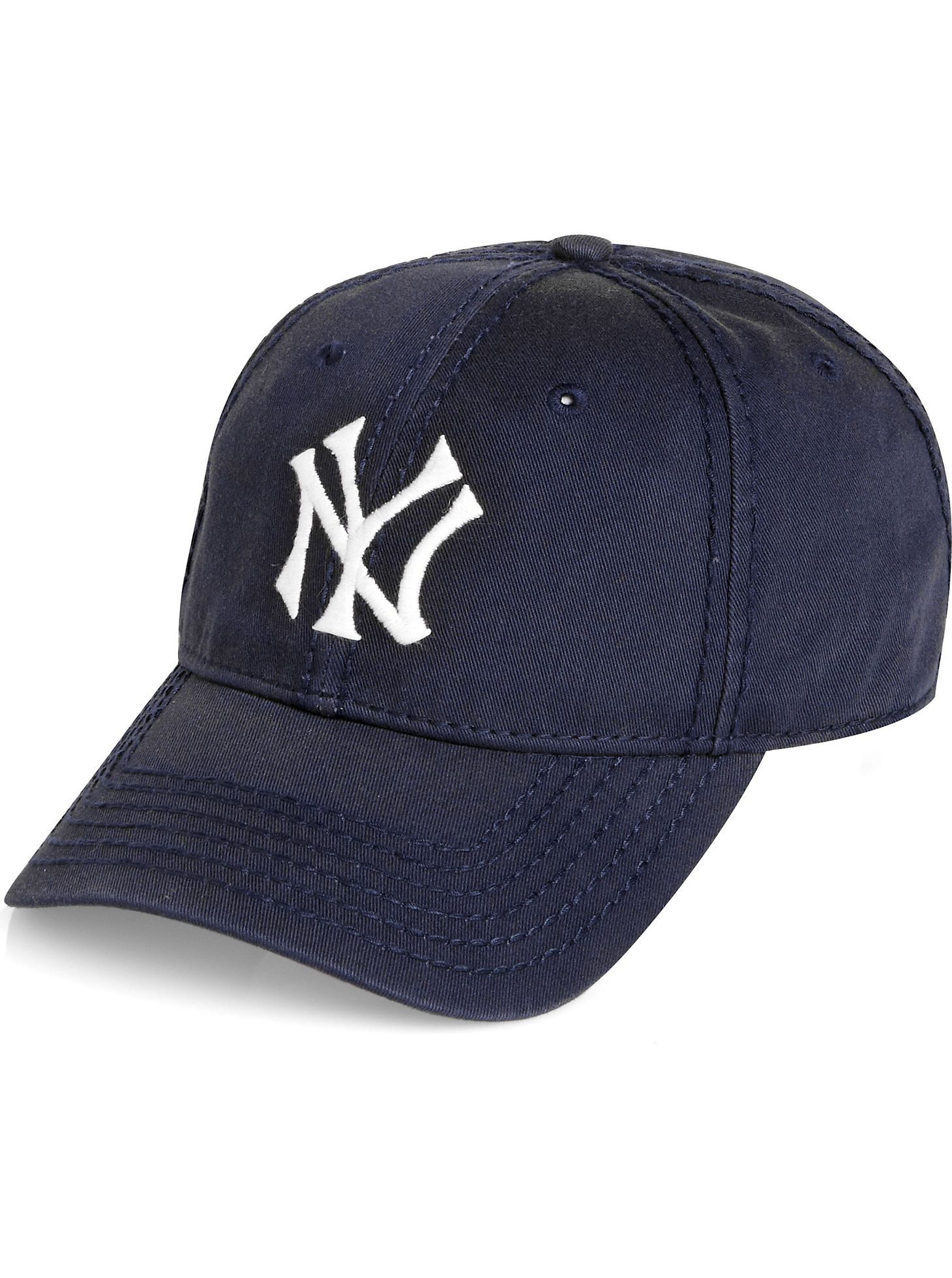 c6adf05790e Accessories - American Needle Navy New York Yankees Vintage Baseball Hat -  Men s Wearhouse