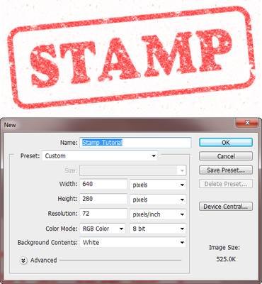 How Do You Make A Rubber Stamp Text Effect Using Photoshop