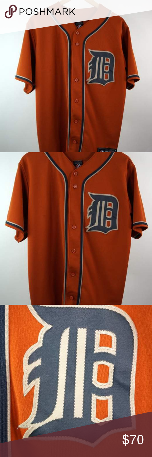 Miguel Cabrera Detroit Tigers Orange Jersey Sz Med Majestic Men S Mlb Miguel Cabrera Detroit Tigers Orange Jersey Sz Men S Medium Miguel Cabrera Jersey Detroit