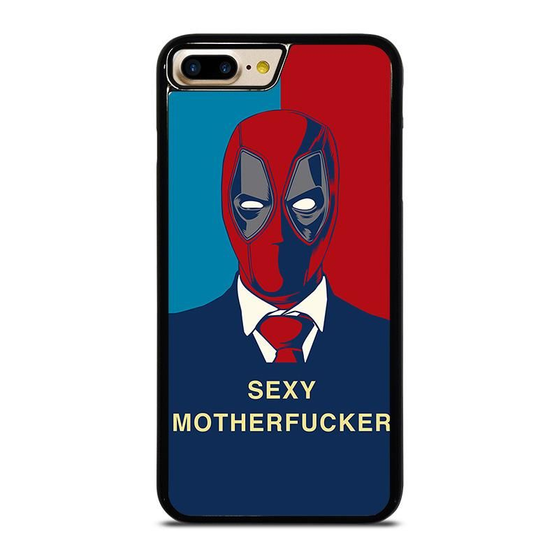 35b15d296d DEADPOOL SEXY MOTHERFUCKER iPhone 7 Plus Case - Best Custom Phone Cover  Cool Personalized Design –