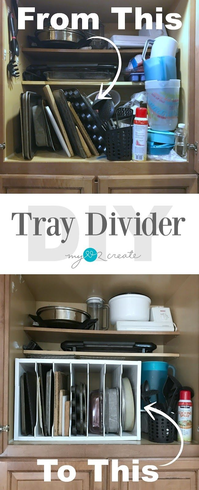 How to make a tray divider using dado joints with free plans and a