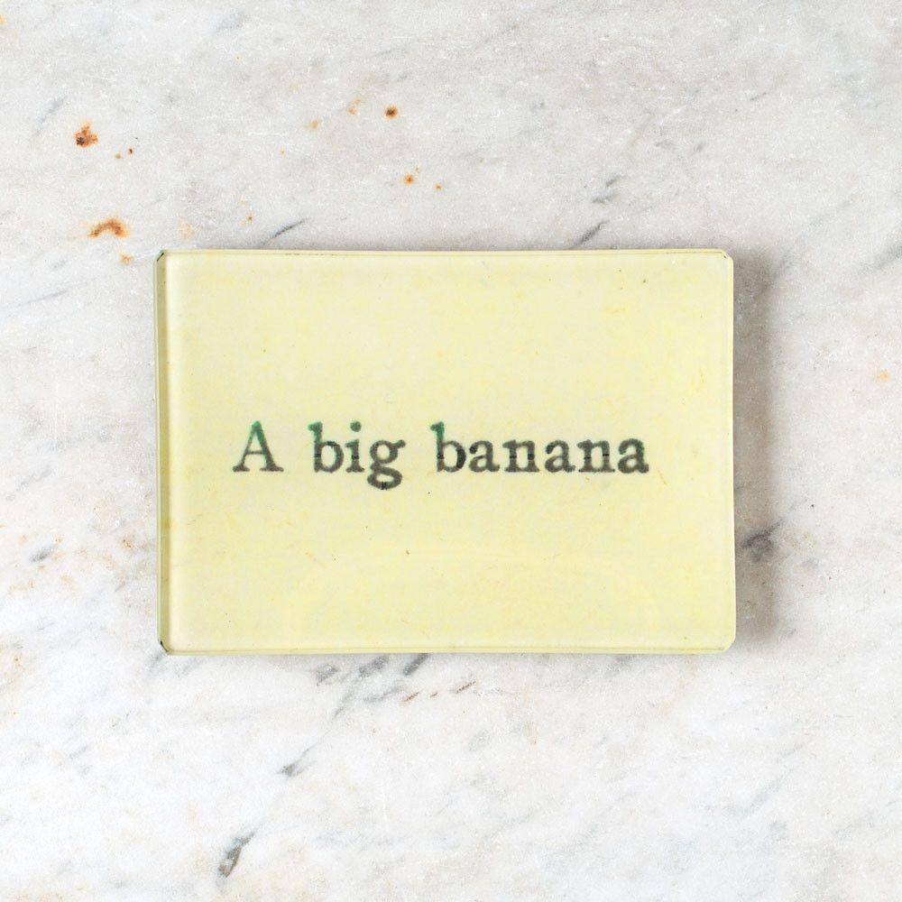 a big banana tiny tray