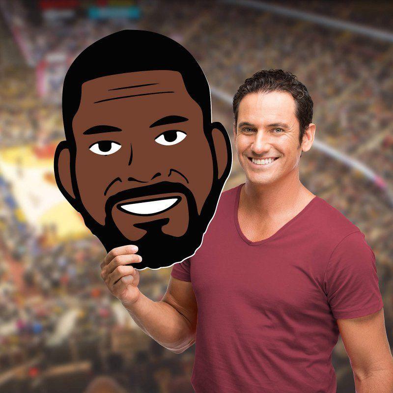 Fathead NBA Cleveland Cavaliers Kyrie Irving Emoji Foam Big Head ...