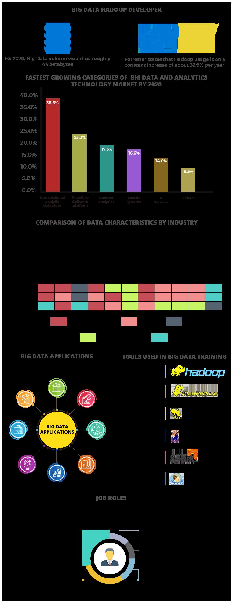 Big Data Hadoop Developer Trend Tools Application Job Roles Big Data Job Roles Data