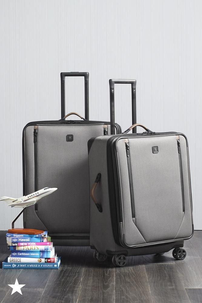 hit the skies in style this victorinox swiss army luggage