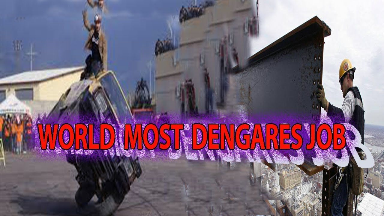 Top Most Dangerous Jobs In The World But Highest Paying Jobs It S Easy For People To Say That After A Certain Age You Epic Facts Dangerous Jobs Career Goals